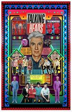 "David Byrne 11x17"" Fan Poster - Vivid Colors! (signed by artist)"