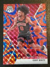 COBY White 2019-2020 Mosaic Rookie BLUE Reactive Bulls #211 🔥🔥