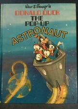 Walt Disney's DONALD DUCK - THE POP UP ASTRONAUT -  Rare 1970 First Edition