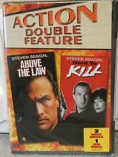 Above the Law/Hard to Kill (DVD, 2005, 2-Disc Set) RARE BRAND NEW