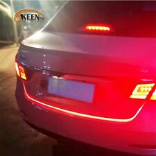trunk light LED strip daytime running light drl with him as braking car tail.