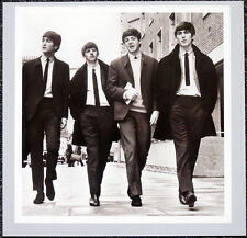 THE BEATLES POSTER PAGE . 1964 FILMING A HARD DAYS NIGHT JOHN LENNON . H42