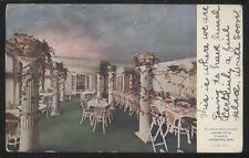 POSTCARD YOUNGSTOWN OHIO BURT'S CANDY SHOP STORE Wistaria Tea Room View 1907