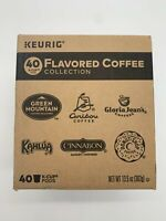 Keurig Flavored Coffee Collection 40 Ct. K-Pods EXP 03-2019