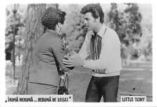 B55380 Inima Nebuna nebuna de legat Little tony Acteurs Actors 9x7cm