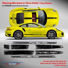 Scratched Porsche Carrera / Cayman / Boxster 2014 - 2018 Racing Stripes set