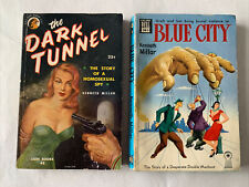 Lot Of 2 Kenneth Millar Pb The Dark Tunnel - Homosexual Spy- Lion & Blue City