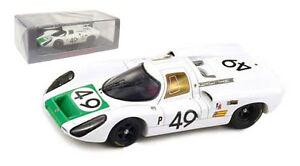 Spark S4161 Porsche 907 #49 Winner 12hr Sebring 1968 - Herrmann/Siffert 1/43