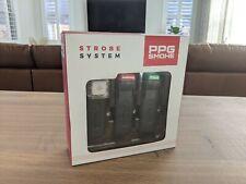 PPG Smoke Paramotor Strobe Light System