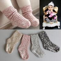 Newborn Baby Small Socks Winter Warm Knitted Floor Socks Thick Anti-slip Socks