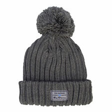 Ben Sherman Mens McCree Bobble Hat in Grey - One Size