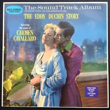 Rare factory sample! George Duning THE EDDY DUCHIN STORY soundtrack LP Kim Novak