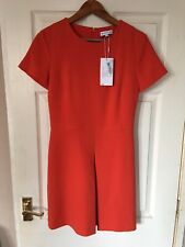 WAREHOUSE ladies orange dress size 10