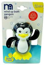 Baby Mothercare Wind Up Penguin Bath Pool Toy Interactive Fun 12 Months +