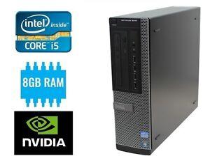 Intel i5 Quad Core Gaming PC 8GB Ram 500GB 2GB NVIDIA Graphics GT 1030 Win 10
