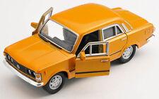 Spedizione LAMPO FIAT 125 p orange Welly Modello Auto 1:34 NUOVO & OVP