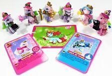 ©Simba/Dracco FILLY WITCHY ♥ 6 Special Babys Sonderfiguren/Sticker/Karten
