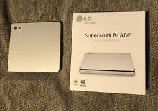 LG SuperMulti Blade Slim DVD Writer - External Drive - Includes Original Box