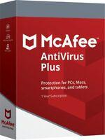 Herunterlad McAfee Anti-Virus Plus Zehn Geräte 2021 Für PC MAC Android