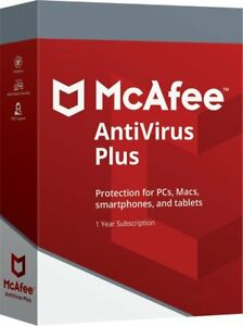 Herunterlad McAfee AntiVirus Plus Zehn Geräte 2021 Für PC Computer