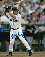 Edgar Martinez Autographed Signed 8x10 Photo ( HOF Mariners ) REPRINT