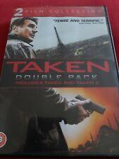 Taken/Taken 2 DVD (2013) Liam Neeson, Morel (DIR) cert 18 2 discs Amazing Value