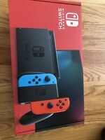 Nintendo Switch 32GB Console Neon Red and Blue Joy SAME DAY SHIP IN HAND