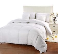 Queen Duvet Insert White Quilted Comforter Ub006 Corner Tabs Hypoallergenic