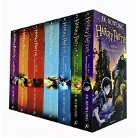 Harry Potter Complete 1-7 Books Collection Gift set By J.K. Rowling Philosopher