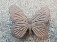 Cast Iron BUTTERFLY Paperweight Home or Garden Ornament Decoration