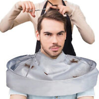 NE_ Foldable Hair Cutting Cloak Hairdresser Cape Haircut Apron Adult Barber Tool