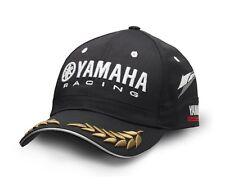 Official Yamaha Racing Paddock Black Laurel Adults Baseball Cap