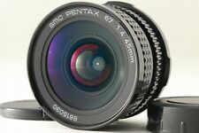 【 Near Mint 】Pentax SMC 67 45mm F/4 lens for 6×7 67 67ll from Japan #190