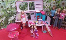 Barbie dolls bundle ( with Barbie van)