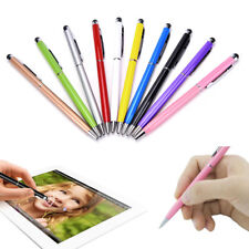 10Set 2 in 1 Touch Screen Stylus + Ballpoint Pen Fit iphone Smartphone Tablet PC