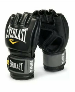 Everlast Pro Style MMA Grappling Gloves Large/Xtra Large Black