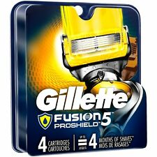 Gillette Fusion PROSHIELD Refill Blades 4 Cartridges (Pack of 2)