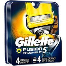 Gillette Fusion ProShield Men's Razor Blade Refills 4 Count Factory Sealed