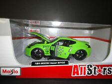 MAISTO Nissan 370Z 2009 vert ALL STARS 1/24