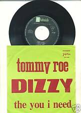 TOMMY ROE-DIZZY-RARE DIFFERENT YUGOSLAVIAN PS 45rpm '69