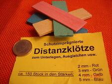 Klotzholz Sortiment ca.150 schutzimprägnierte Holzplättchen 2-5 mm farbig Buche