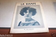 REVUE LA RAMPE N° 259 Mlle NOLA DARTHY 05 11 1921