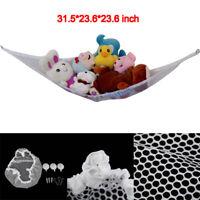 Jumbo Hammock Toy Net Organizer Corner Stuffed Animals Kids Hanging/Bath T JR