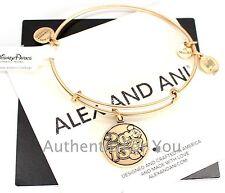 NEW Disney Parks Alex and Ani 2015 Mickey Mouse Gold Bangle Bracelet