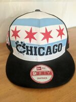 Chicago Blackhawks Flag Snapback Hat Cap New Era NEW