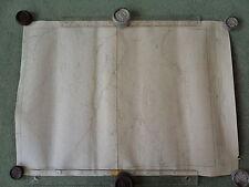 """TWO Ordnance Survey 6"""" maps Argyll. Perth 1925 Meall an Fhudair. Allt Arnan."""