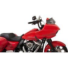 "Klock Werks 6"" Black Super Low Sport Flare Windshield Harley Road Glide 15-19"