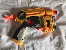 Nerf N-Strike Nite Finder EX  Pull Back Pistol Dart Gun w/ Laser Sight