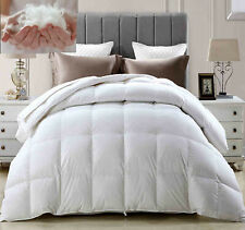 LUXURY HOTEL QUALITY GOOSE / DUCK FEATHER & DOWN DUVET QUILT All TOG AVAILABLE