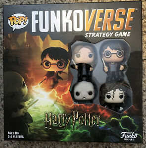 POP! Funkoverse Board Game: Harry Potter Base Set Strategy Game NIB Sealed